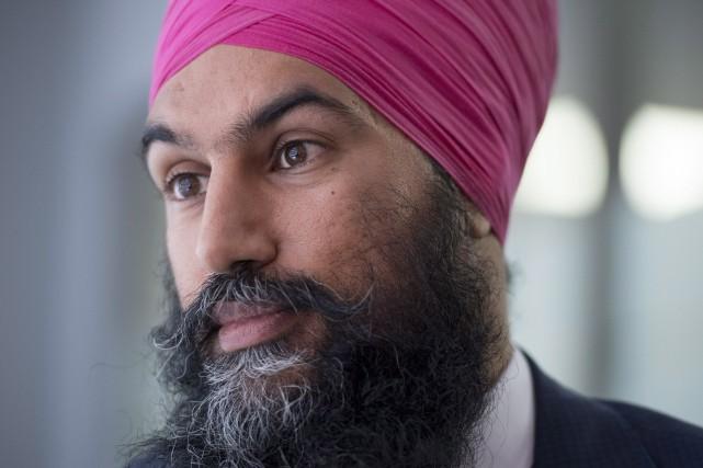 La candidature deJagmeetSingh, un sikh pratiquant, à la... (Photo Justin Tang, PC)
