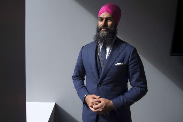 Jagmeet Singh... (Photo Justin Tang, archives LA Presse Canadienne)