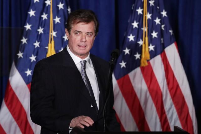 Paul Manafort a dirigé la campagne de Donald... (ARCHIVES AFP)