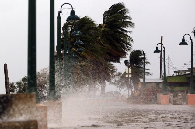 Maria «pourrait être le pire ouragan du dernier... (PHOTO archives AFP)