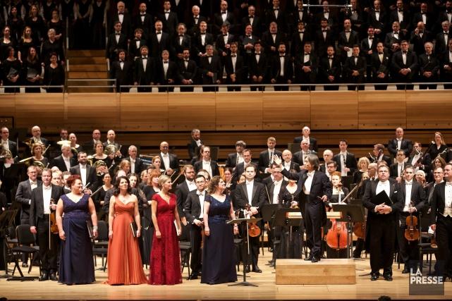 Mardi soir, à la Maison symphonique, les très... (PHOTO ANDRÉ PICHETTE, LA PRESSE)