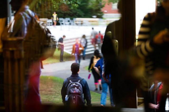 Au Québec, à l'âge de 17 ans, 50%... (PhotoGretchen Ertl, Archives The New York Times)