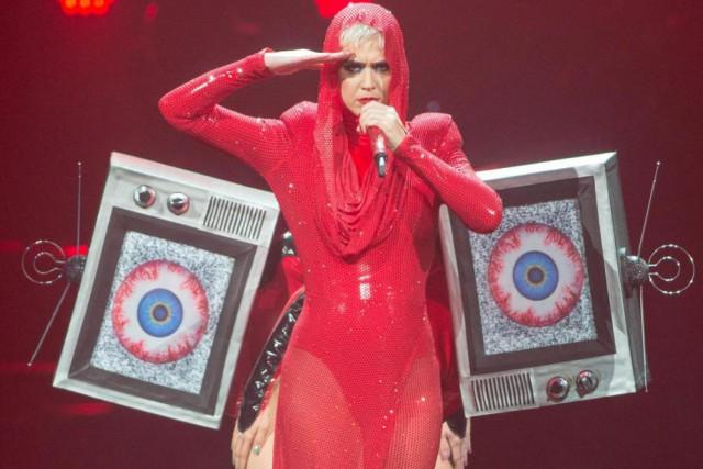 Katy Perrya misé sur ses plus grands succès... (PhotoRyan Remiorz, La Presse canadienne)