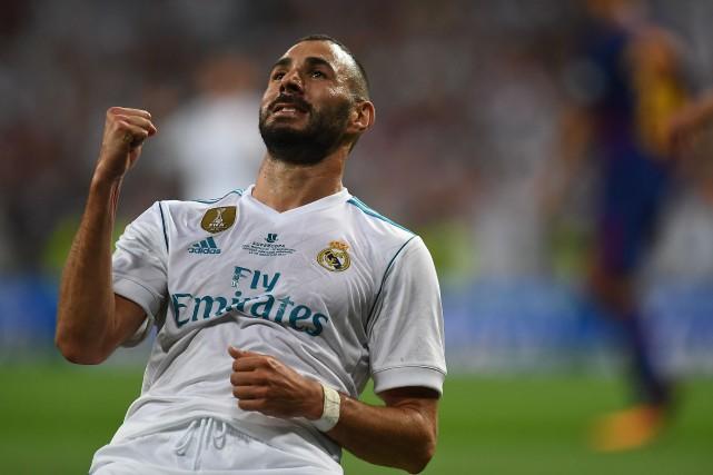 Karim Benzema... (Photo Gabriel Bouys, AFP)
