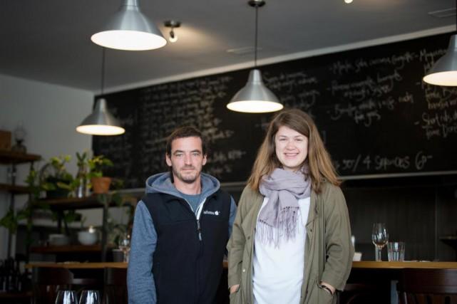 Le chef JeremyDaniel-Six et SophieDuchastel deMontrouge viennent d'ouvrir... (PHOTO FRANÇOISROY, LA PRESSE)