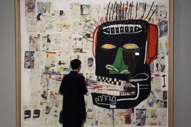 Glen 1984, collage de Jean-Michel Basquiat... (PHOTO AP)
