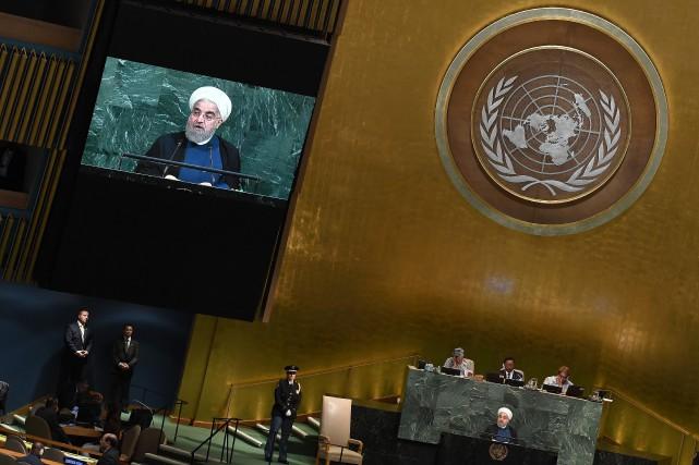 «L'accord appartient à la communauté internationale et pas... (PHOTO AFP)