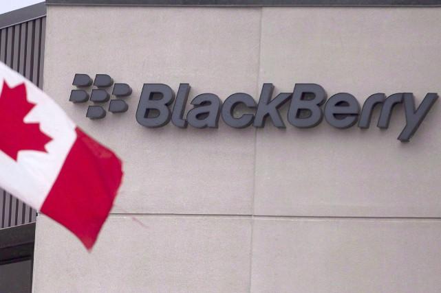 Les ontariennes Blackberry et Fleet Complete vont travailler... (Photo : Presse canadienne)