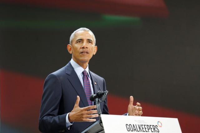 Barack Obama a livré ces propos lors d'une... (PHOTO REUTERS)