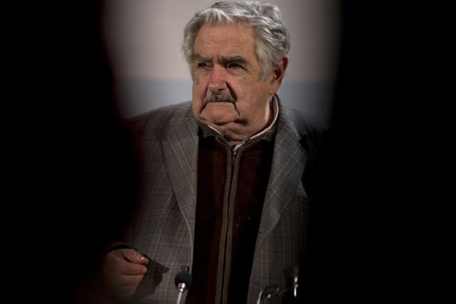 L'ex-président José Mujica en août 2013....