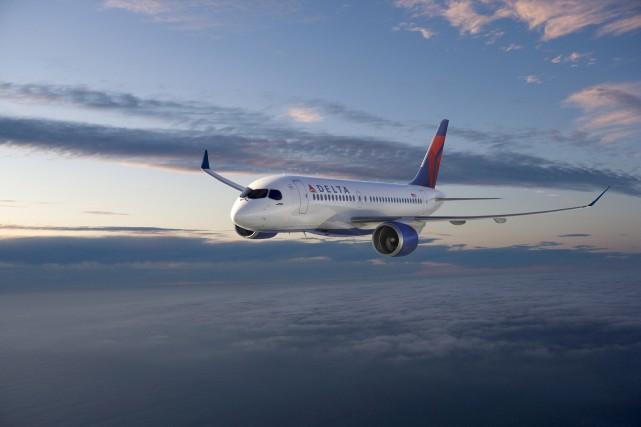Échaudé par la commande de 75 avions CS100... (Courtoisie, Bombardier)