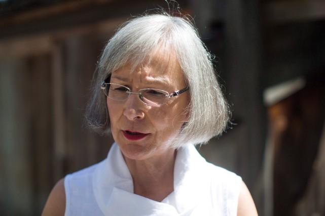 La commissaire en chef de l'Enquête nationale sur... (Photo Darryl Dyck, ARCHIVES LA PRESSE CANADIENNE)
