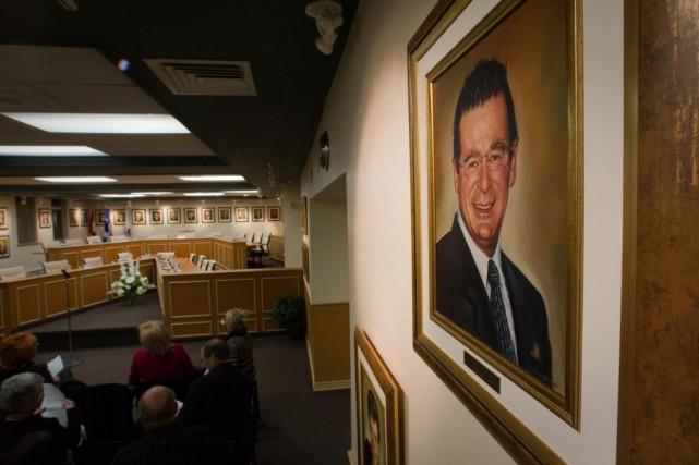L'ancien maire de TerrebonneJean-Marc Robitaille a démissionné de... (Photo André Pichette, Archives La Presse)