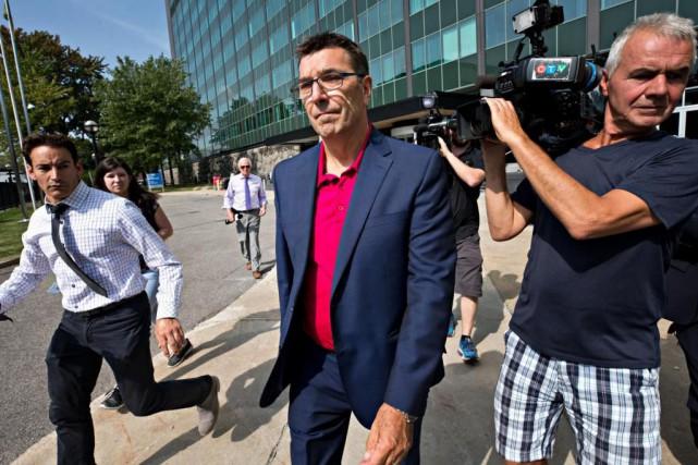 L'ingénieur DanyMoreau, qui a été arrêté mardi dans... (Photo PatrickSanfaçon, La Presse)