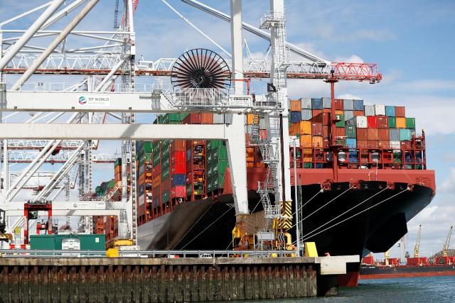 «L'amélioration des perspectives du commerce est une bonne... (REUTERS)