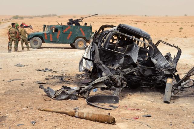 Les raids, dans la zone frontalière entre les... (AFP)
