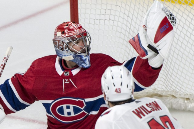 Carey Price a disputé la première moitié du match... (Photo Paul Chiasson, PC)