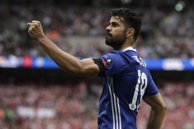 Diego Costa... (Photo Matt Dunham, AP)