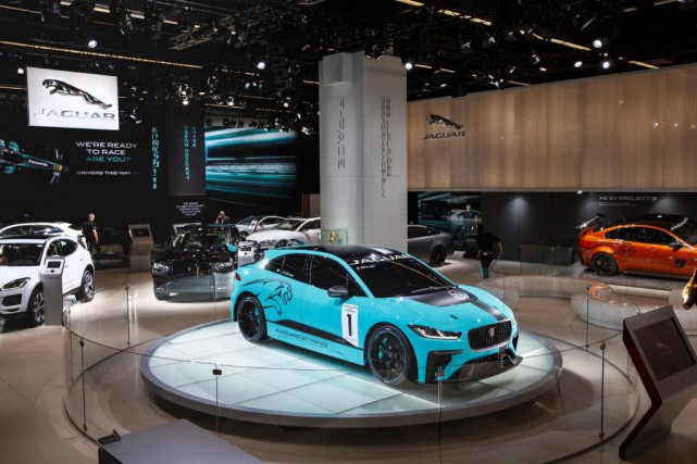 La Jaguar I-Pace... (PHOTO Jaguar)