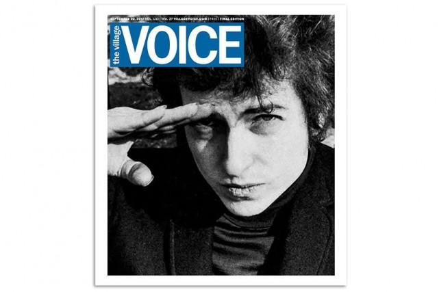 La dernière édition imprimée du Village Voice... (CAPTURE D'ÉCRAN)
