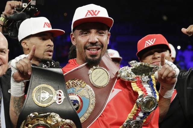Andre Ward... (Photo John Locher, AP)
