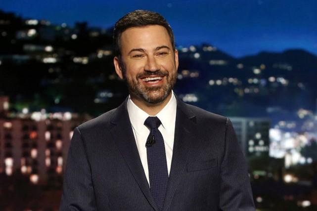Jimmy Kimmel est l'animateur de l'émission de late... (ARCHIVES AP)