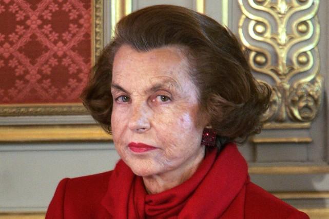 Liliane Bettencourt a été au centre depuis dix... (ARCHIVES AFP)