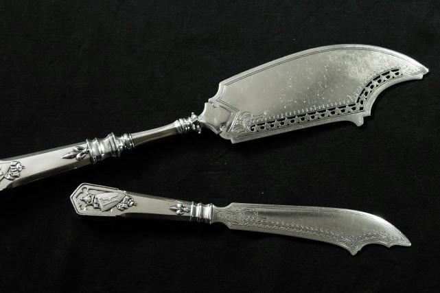 Selon le nouveau propriétaire des couteaux, un collectionneur... (PHOTO AFP)