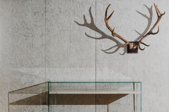 Les meubles en verre, marbre et quartzite de... (photo fournie parClaste)