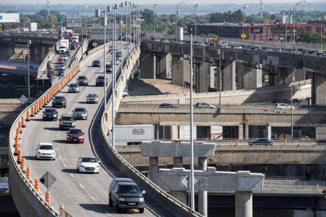 Le chantier de l'échangeur Turcot est un projet... (PHOTO EDOUARD PLANTE-FRÉCHETTE, LA PRESSE)
