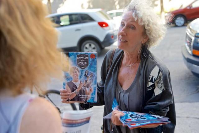 L'auteure Monique Proulx apris part à l'événement Camelot... (PHOTO ANDRÉ PICHETTE,LA PRESSE)