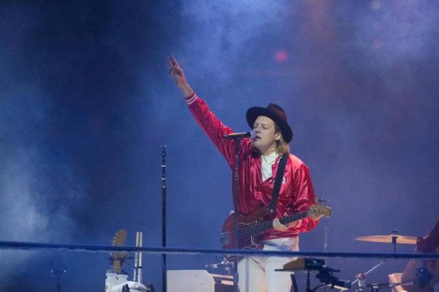 Win Butler a expliqué la décision d'Arcade Fire... (photo Brent N. Clarke, associated press)