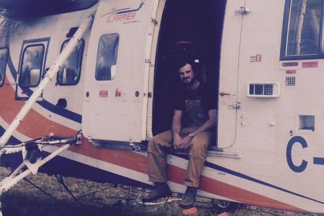 Un pilote d'hélicoptère de Québec au coeur des ouragans