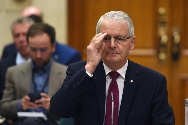 Le ministre fédéral des Transports, Marc Garneau (notre... (PHOTO ARCHIVES LA PRESSE CANADIENNE)