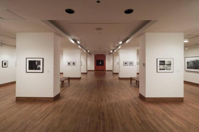 Vue de l'exposition Dialogues. La collection de photographies... (Photo fournie par le Musée des beaux-arts de Sherbrooke)