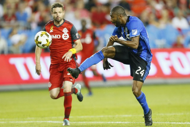 L'Impact a offert une performance inspirée au BMO... (USA Today Sports)