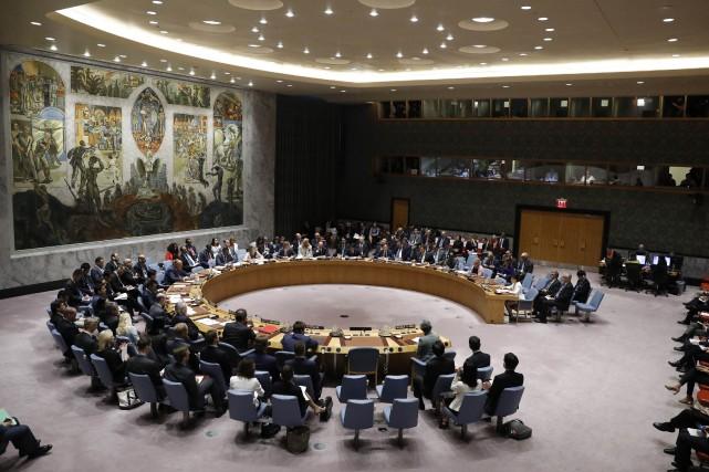 Pour maintenir la sécurité internationale, le Conseil peut... (Photo Brendan McDermid, REUTERS)