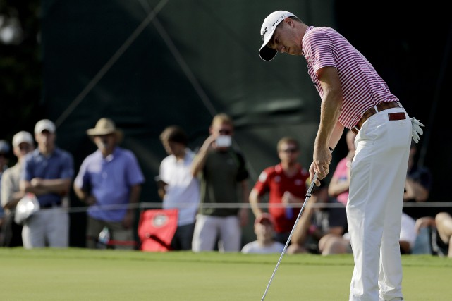 Justin Thomas... (Photo David Goldman, AP)
