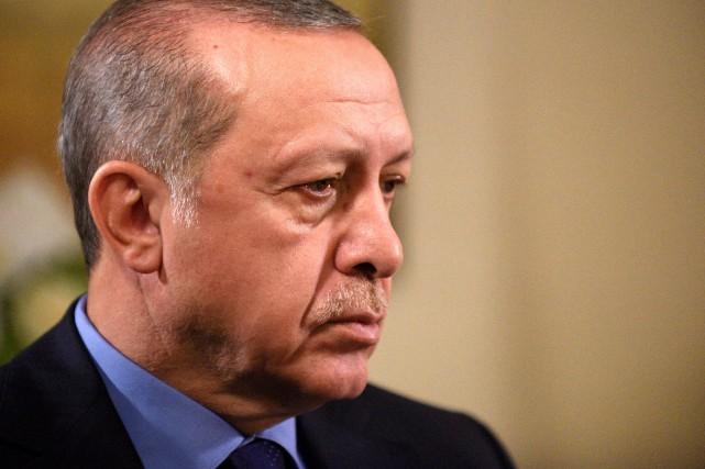 Le président turque Recep Tayyip Erdogan... (PHOTO Darren Ornitz, REUTERS)
