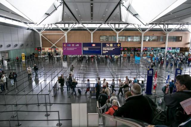 On n'a enregistré aucune journée à l'aéroport international... (photo martin tremblay, la presse)