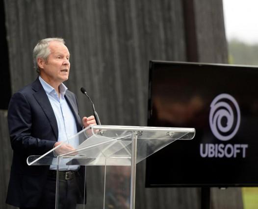 Yves Guillemot, PDG d'Ubisoft, lors de son récent... (Photo Jeannot Lévesque, Archives Le Quotidien)