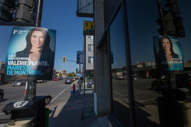 Un spécialiste en publicité juge que les pancartes... (Photo Ivanoh Demers, La Presse)