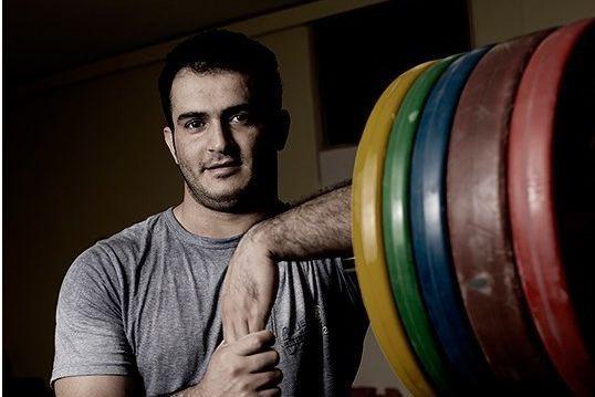 L'haltérophile iranien Sohrab Moradi... (PHOTO TIRÉE DE WIKIPÉDIA)