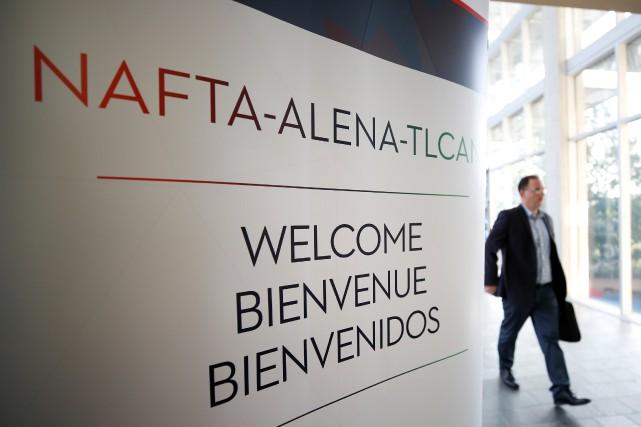 Le troisième round de renégociation de l'Accord de libre-échange nord-américain... (PHOTO REUTERS)