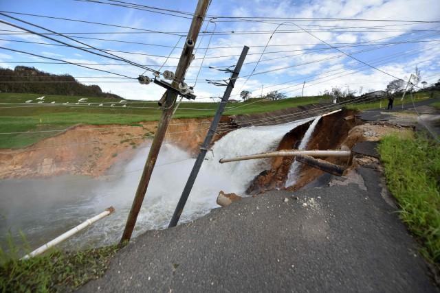 Une fissure a été découverte dans un barrage... (PHOTO AFP)