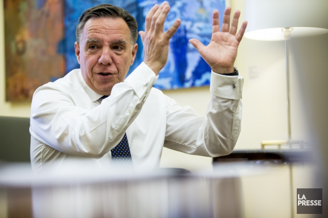 François Legault... (Photo Olivier Jean, archives La Presse)