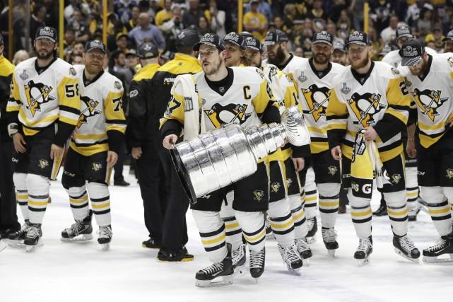 Les Penguins de Pittsburgh ont diffusé un communiqué... (Photo Mark Humphrey, AP)