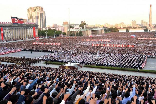 Une grande manifestation antiaméricaine s'est déroulée samedi dans... (Photo AFP)
