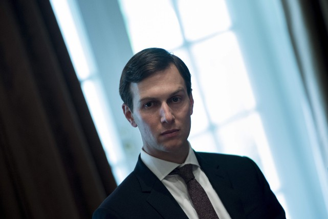 Jared Kushner... (ARCHIVES AFP)