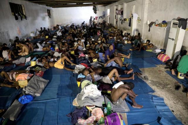 «L'arrangement entre les leaders européens et la Libye... (ARCHIVES REUTERS)
